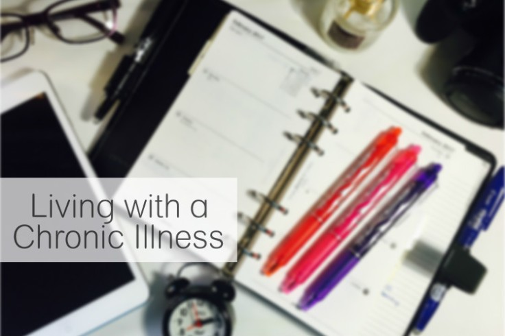 Living with a Chronic Illness. Trials and tribulations of living with a chronic illness. livingwithjhs.com