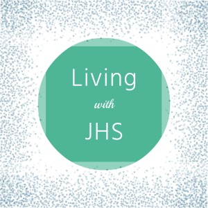 Living with JHS logo.