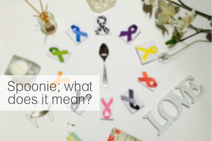 """You've probably heard the word spoonie come up before and, no doubt, wondered what on earth it means! I know I talk about spoonies and how many """"spoons"""" I've got left etc. Well this all comes from The Spoon Theory by Christine Miserandino. Here's what it's all about! livingwithjhs.com"""