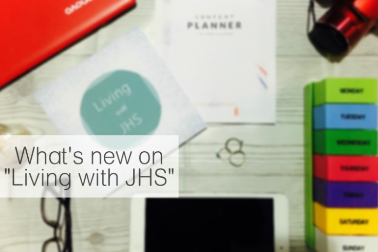 What's New @ Living with JHS. livingwithjhs.com